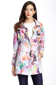 Duena Print Parka by Ted Baker on @HauteLook