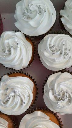 Bruidstaart cupcake's