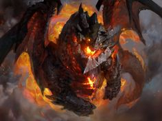 deathwing4-full.jpg (1600×1196) #Dragon #WoW #Fantasy