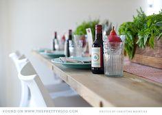 Italian themed dinner party