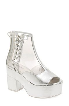 Jeffrey Campbell 'Capucine' Platform Bootie (Women) available at #Nordstrom