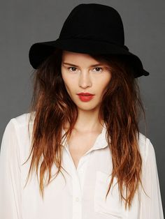 Free People Clipperton Fedora at Free People Clothing Boutique