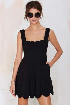 Nasty Gal I'm Yours Dress - Black - Going Out | Fit-n-Flare | LBD | Dresses | LBDs From $25