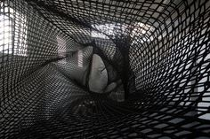Numen / For Use's Tube Innsbruck climbs inside modernist building - News - Frameweb