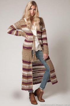 Moda tejidos invierno 2013 Agostina Bianchi
