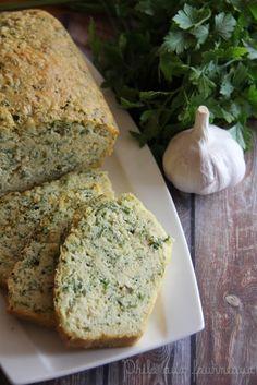 Cake ail & fines herbes au vin blanc