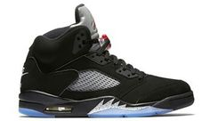huge discount b04ba 54777 Jordan 5 Fire Red On Feet, Jordan 5 Herr Metallic Svart Röd Silver Vit  Metallic