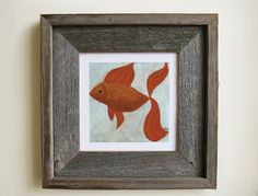 SALE 40 OFF Fish Nursery Art Print on Paper The by pictureatale, $11.99