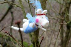 wenn Schweine fliegen von Frau Brunsels Filz auf DaWanda.com