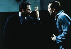 "Castor Troy (Nicolas Cage) to Sean Archer (John Travolta): ""It's like looking in a mirror. Only... not."" -- from Face/Off (1997) directed by John Woo"