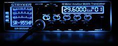 stryker 10 meter radios SR-955HPC Brilliant 7-Color LED Backlit Face Plat. Read more https://goo.gl/YH6YmC