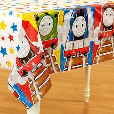 Thomas and Friends table cover