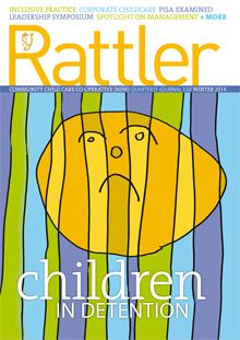 rattler-110 Social Justice, Childcare, Leadership, Preschool, Management, Winter, Magazine, Winter Time, Parenting