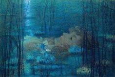 Ophelia - Lucien-Levy Dhurmer .