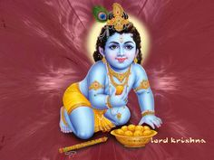 Krishna With Ladoos. Lord Krishna wallpaper Janmashtami, the birthday of Lord Krishna is celebrated with great devotion and enthusiasm in India in the month of July or August. krishna with ladoos Free Krishna Janmashtami Baby Krishna, Krishna Birth, Sri Krishna Photos, Krishna Pictures, Ganesh Images, Lord Krishna Images, Tanjore Painting, Krishna Painting, Hindu Symbols
