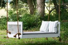 Vintage Porch Swings of Charleston || handcrafted on John's Island