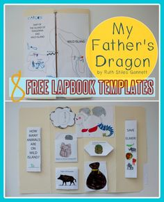 *FREEBIE* My Father's Dragon Lapbook Templates PLUS 8 other free enrichment activities