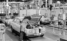 W123 production