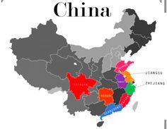 AS oito cozinhas da China
