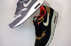 Nike Air Max 1 'Leopard' Pack Fall 2012 just ordered Cheap Running Shoes, Nike Shoes Cheap, Nike Free Shoes, Cheap Nike, Leopard Sneakers, Air Max Sneakers, Sneakers Nike, Sneakers Style, Nike Heels