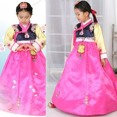 Girl Hanbok Baby Korean traditional clothes dress wedding Party Korea Women 4004 #FairyCloset #KoreanHanbokDress