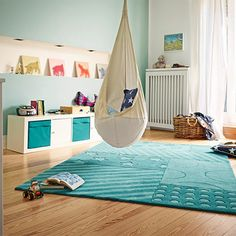 Stars and Stripes Teal Rug (part of the Esprit Collection) by Modern Rugs 10 Colorful Rugs To Brighten Up Any Kids Room Kids Bedroom Accessories, Striped Carpets, Teal Rug, Soft Flooring, Sweet Home, Cheap Carpet, Modern Rugs, Cool Rugs, Decoration