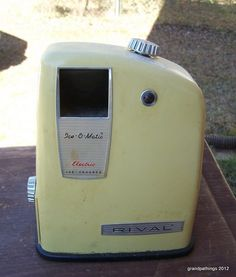 Vintage Rival Ice-O-Matic Ice Crusher