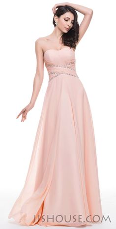 Nothing says fun quite like PROM! Turn it up a notch in this long and flowing dress! #JJsHouse #Party #Prom
