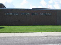 Fairfield Union High School--Rushville, Ohio  Torn down but not forgotten