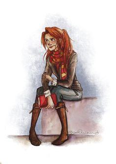 ginny weasley fan art - Google Search