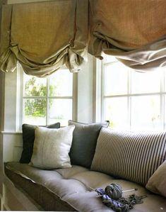 great window treatment.