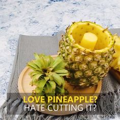 Stainless Steel Pineapple Slicer - Your kitchen's best friend! Cool Kitchen Gadgets, Cool Kitchens, Pineapple Slicer, Serving Utensils, Useful Life Hacks, Fruit Salad, Cool Things To Buy, Dinner, Eat