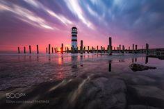 Lighthouse Podersdorf  by MarkusStermeczki via http://ift.tt/2l4JluF