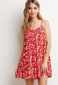 Floral Cami Shift Dress | Forever 21 - 2000089514