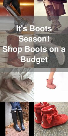It's boots weather! Shop your favorites and find this season's hottest trends on Poshmark. Install the free app now to discover discounts up to 70% off that's sure to please your inner fashionista and your wallet!