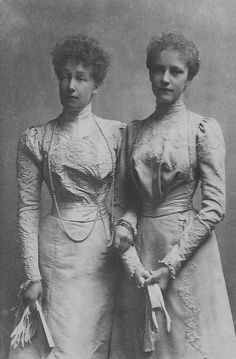 Princess Stéphanie, Countess Lónyai and her daughter from her first marriage, Archduchess Elisabeth Marie of Austria.