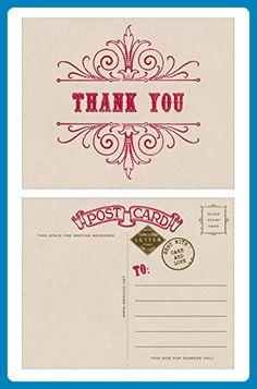 637 Best Wedding Thank You Cards Images On Pinterest Wedding Thank