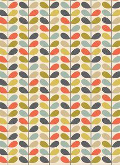 Oh How I Love Orla Orla Kiely Melamine Range Pear Print