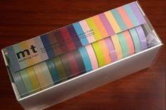 Japanese washi masking tape 7mm pack of 20. $33.00, via Etsy.