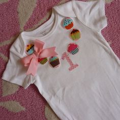 Party like its your Birthday Cupcake Necklace Shirt / Onesie...@Nikki Detzel - if you have a girl you need this :)