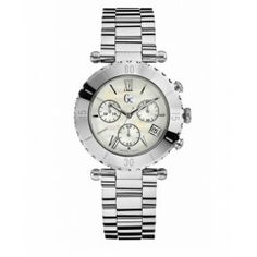 GUESS Gc Diver Chic Silver Timepiece Montre Guess Collection dfe9111a31c4