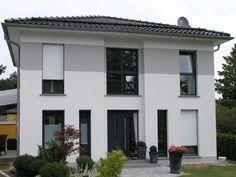 Stadtvilla Typ E - #Einfamilienhaus von HOGAF Hausbau GmbH | HausXXL #Stadtvilla #modern #Zeltdach