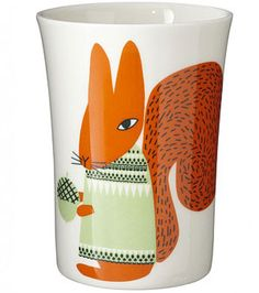 Donna Wilson red squirrel cup