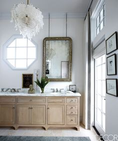 20 Brilliant Ideas For Decorating With Mirrors - ELLEDecor.com