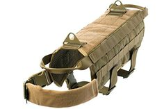 Pets Houe Dog Harness Tactical Large Coyote Brown -- Be sure to check out this awesome product.(This is an Amazon affiliate link and I receive a commission for the sales)