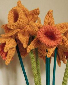 Free Daffodils Knitting Pattern