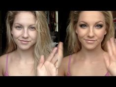 Amazing makeup tutorial. She is SKILLED.