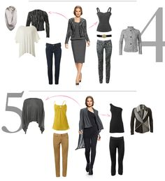 """Dress it up or dress it down: Here are some great ideas from CAbi for how to mix up this season's """"must haves"""" in new ways. Find these online at http://www.juliemoore.cabionline.com."""