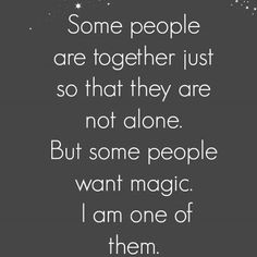 some people are together just so that they are not alone