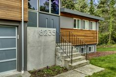 Exterior refresh of 1970's split level home